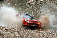 WRC - Mitsubishi: Wieder eine Bestzeit für Galli