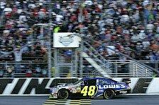 NASCAR - Jimmie Johnson fährt davon