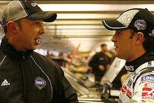 NASCAR - Auch Hampton steht im Regen