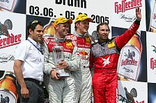 DTM - Brünn: Frentzen wird bei klarem Audi-Doppelsieg Dritter