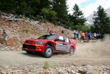 WRC - Mitsubishi möchte auf das Podest