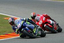 MotoGP - Freies Training: Tamada jagt Melandri
