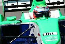 A1GP - Carroll holt Doppel-Pole für Irland