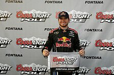 NASCAR - Fontana: Brian Vickers auf Pole