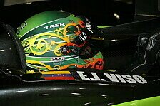 IndyCar - Viso sitzt im vierten Andretti-Wagen