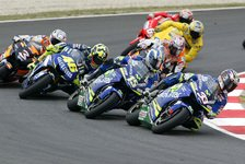 MotoGP - Verregneter Testtag in Barcelona