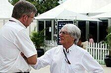 Ecclestone verdächtigt Ross Brawn: Er will Formel 1 beherrschen