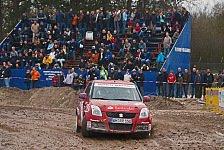 DRM - Suzuki Rallye Rookie Team auf dem Podium