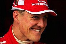 Formel 1 - Michael Schumacher mag die Ruhe