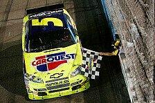 NASCAR - Mark Martin umjubelter Sieger