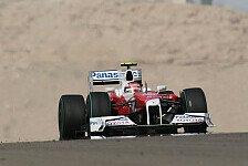 Formel 1 - 3. Training - Glock mit Bestzeit und Defekt