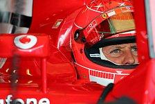 Formel 1 - Michael Schumacher denkt nicht daran aufzugeben