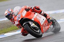 MotoGP - Regen sorgt im Warm-up für Stillstand