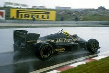 Formel 1 - Bilder: Regenschlacht in Estoril 1985: Ayrton Sennas erster F1-Sieg