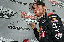 NASCAR - Brian Vickers mit zweiter Saison-Pole