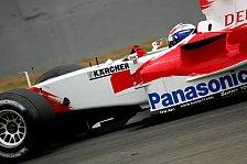 Formel 1 - Toyota wähnt Podestplätze in Reichweite