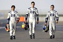 Formel 1 - Nick Heidfeld gehört nun offiziell zum BMW-Williams Team
