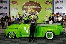 NASCAR - Ryan Newman war wieder der Rocket Man