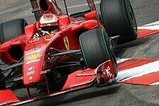 Formel 1 - Räikkönen hin und her gerissen