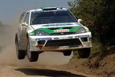 WRC - Ford: Gardemeister auf Rang zwei