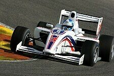 Formel 2 - 2. Testtag: Palmer mit Bestzeit