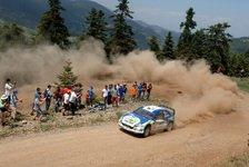 WRC - OMV: Pons erzielt Top-10 Resultat