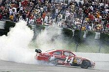 NASCAR - Tony Stewart gewinnt als Teambesitzer
