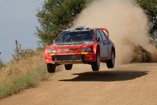 WRC - Doppeltes Punktefinish für Mitsubishi
