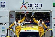 WRC - J-WRC: Triumph für Suzuki