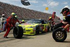 NASCAR - Mark Martin der lachende Dritte