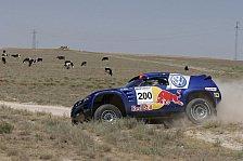 WRC - Orient Rallye, Etappe 4: VW erobert Doppelführung zurück