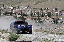 WRC - Rallye Orient, Etappe 6: Bruno Saby auf Siegkurs