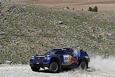 WRC - Orient Rallye, Etappe 5: VW baut Doppelführung aus