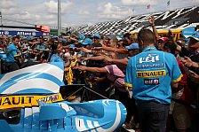 Formel 1 - Alonso wünscht seinem Team Aufkleber zum Frühstück