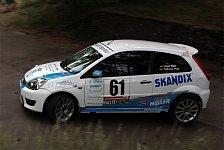 ADAC Rallye Masters - Lazar Kan bestens aufgelegt