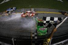 NASCAR - Tony Stewart siegte in einem Thriller