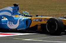 Formel 1 - 4. Freies Training: Munterer Schlagabtausch in den Schlussminuten