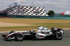 Formel 1 - 1. Freies Training: De la Rosa gibt den Ton an