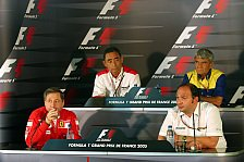 Formel 1 - PK: Über Jetlag und Missverständnisse