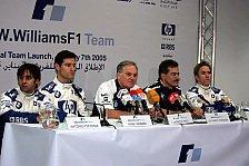 Formel 1 - BMW-Williams mit schwungvollem Jahresbeginn in Bahrain