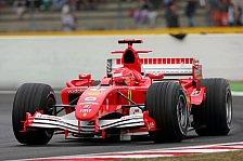 Formel 1 - Ferrari: Glänzende Ausgangslage für das Rennen