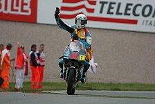 Moto3 - Simon gewinnt Regen-Sprint