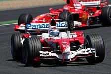 Formel 1 - Toyota möchte Ferrari & Williams schlagen