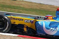 Formel 1 - Flower Power für Renault
