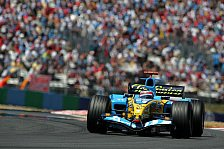 Formel 1 - Magny Cours 2005 - Feuer gegen Eis