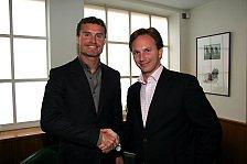 Formel 1 - David Coulthard verlängert bei Red Bull Racing