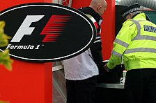 Formel 1 - Erhöhte Sicherheitsvorkehrungen in Silverstone