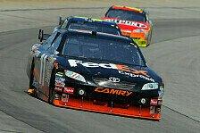 NASCAR - Hamlin gewinnt vor Montoya