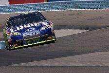 NASCAR - Erste Road-Course-Pole für Jimmie Johnson
