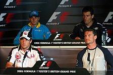 Formel 1 - PK: Wir alle sind schockiert...